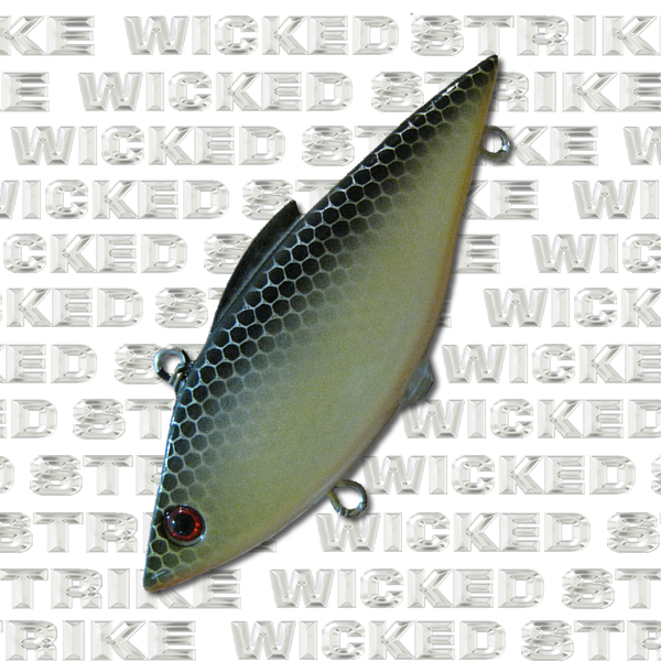 Golden Shad Lipless Crankbait